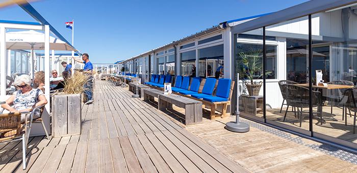 Willy Noord strandpaviljoen en strandbungalows Katwijk aan Zee
