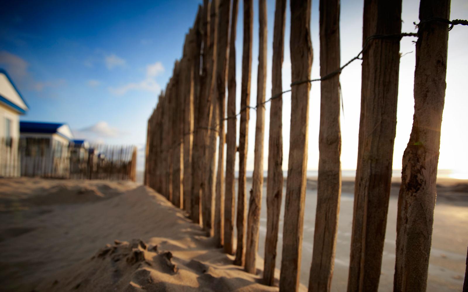 Willy Noord Strandhuisjes Katwijk aan Zee Exterieur